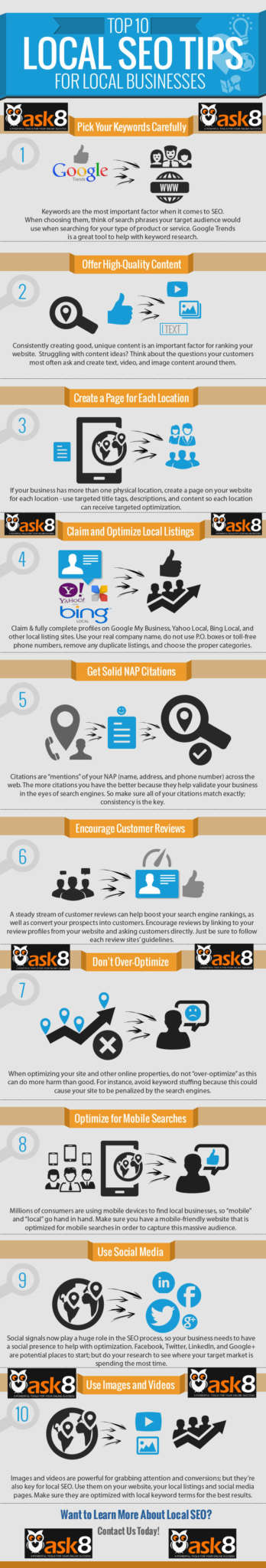 TOP 10 Local SEO Tips For Local Business