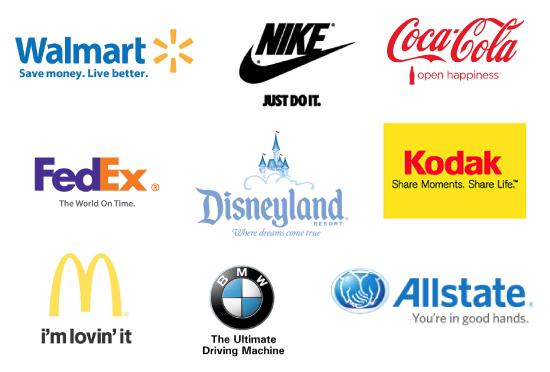 slogan brand